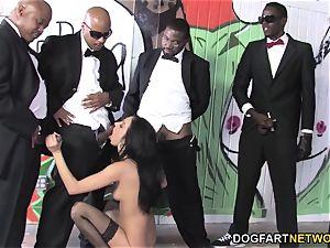 Stephanie lash In ebony dick Heaven