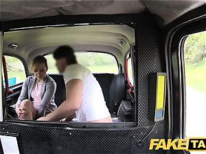 fake taxi ultra-cute smallish nubile gets free ride